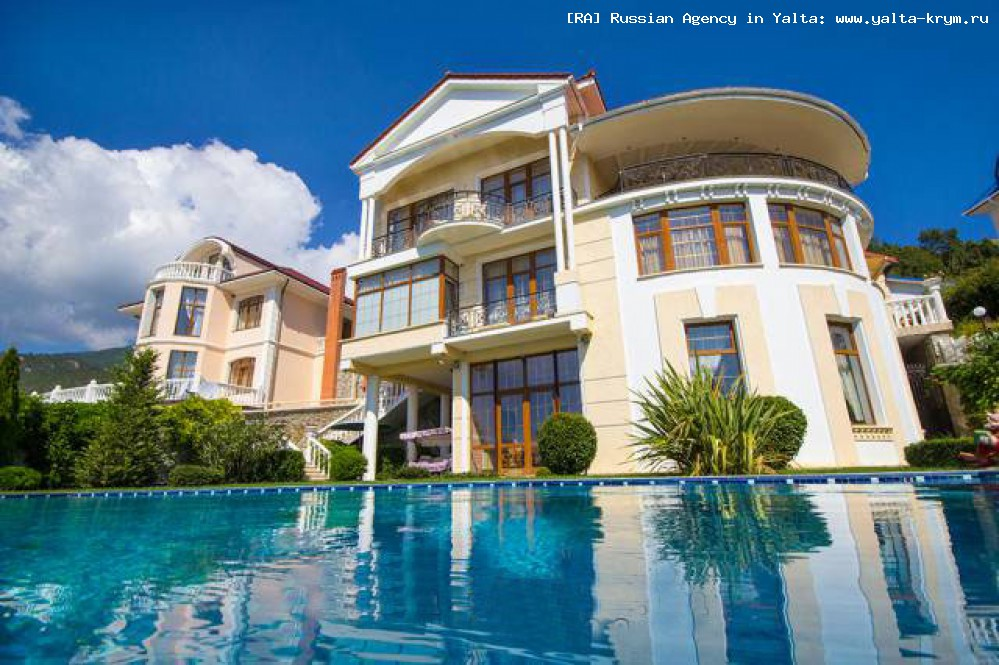 Самый дорогой дом в Крыму - вилла в Никите (Ялта)