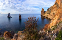 Продажа: участок рядом с морем на Фиолент, 13 соток. ЮБК - Крым