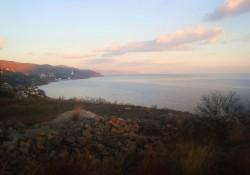 Участок в Крыму с видом на море   Недвижимость Крым, ЮБК, Ялта