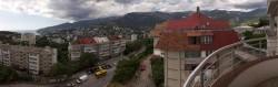 Панорама с балкона угловой квартиры | Недвижимость Крым, ЮБК, Ялта