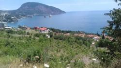 Продажа: участок в Гурзуфе с видом на море и Аю-Даг, 11 соток под ИЖС. ЮБК - Крым