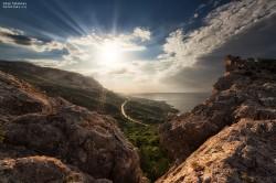 Продажа: участок 20 гектар на мысе Сарыч, до моря 100 метров. ЮБК - Крым
