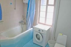 Ванная комната, санузел совмещенный, но просторный | Недвижимость Крым, ЮБК, Ялта