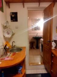 Вид с кухни в санузел | Недвижимость Крым, ЮБК, Ялта