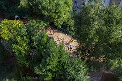 Детская площадка во дворе | Недвижимость Крым, ЮБК, Ялта