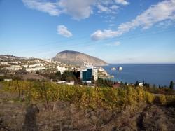 Участок ниже | Недвижимость Крым, ЮБК, Ялта