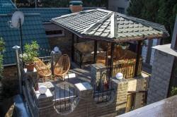 Беседка над гостевым домиком | Недвижимость Крым, ЮБК, Ялта