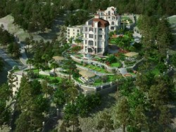 2 дома - недострой в Гаспре с землей 1 Га | Недвижимость Крым, ЮБК, Ялта