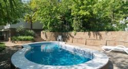 Аренда: дом с бассейном, прекрасное место, двор, барбекю и сауна. ЮБК - Крым