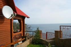 Аренда: дом в Форосе на 15 чел., вид на море, недорого. ЮБК - Крым