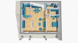 коттедж 286 кв.м. 1 этаж планировка | Недвижимость Крым, ЮБК, Ялта