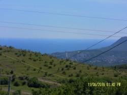 Продажа: участок с видом на море 10 соток в г. Алушта, с Лучистое, ижс. ЮБК - Крым