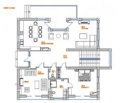 План первого этажа | Недвижимость Крым, ЮБК, Ялта