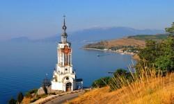 Инвестиции: пансионат в Алуште, с Малореченское, прекрасный парк. ЮБК - Крым